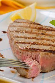 FRESH TUNA STEAK RECIPES: Citrus-Ginger Tuna Steaks