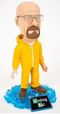 "AMC Breaking Bad 6"" Walter White Hazmat Bobblehead Toy Breaking Bad http://www.amazon.com/dp/B00NHBZHOS/ref=cm_sw_r_pi_dp_MckEub00RQZD6"