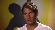 An interview with Rafa posted by the ATP.
