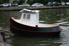 Candu Jr ,Mini Tugboat Plans, Tugboat Plans