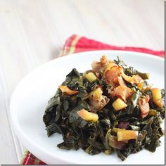 Apple Bacon Collard