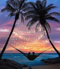 sunset, couple, and beach image Beautiful Places To Travel, Wonderful Places, Beautiful World, Romantic Places, Romantic Moments, Beautiful Gorgeous, Beautiful Dresses, Travel Aesthetic, Photo Manipulation