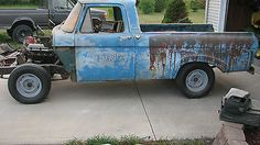 Ford : F-100 Unibody Short Bed 1962 Ford F100 Unibody Short Bed - http://www.usabarnfinds.com/archives/1107