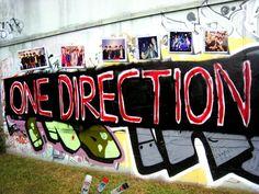 one direction graffiti