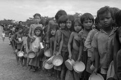 The Khmer Rouge lead by Pol Pot may be partly to blame for diabetes in Cambodia  and the poverty stricken countryside.
