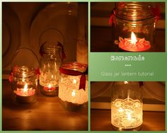 Sew a little love: homemade lantern tutorial