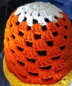 Looking for your next project? You're going to love Candy Corn Beanie by designer DelilahLane.