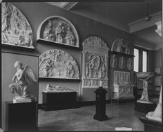 The Metropolitan Museum of Art, Wing C, Room 24: View of Hall of Architectural Casts. Photographed in March 1925.