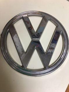 "Vintage VW Emblem 8 cm 3 1"" | eBay"