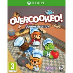 Overcooked Gourmet Edition Xbox One Game   http://gamesactions.com shares #new #latest #videogames #games for #pc #psp #ps3 #wii #xbox #nintendo #3ds