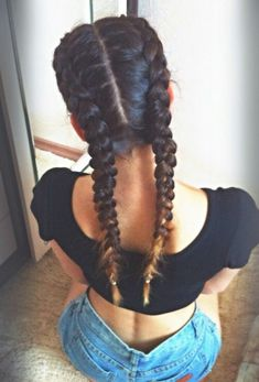 2 dutch braids