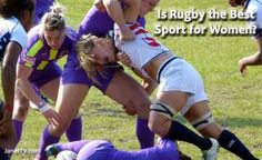 """Is Rugby the Best Sport For Women?"" --- Article that discusses and explains Women's Rugby in the U. Rugby Rules, Rugby Workout, Rugby Girls, Womens Rugby, Hard Men, Rugby League, Taekwondo, Beast Mode, Girls Be Like"