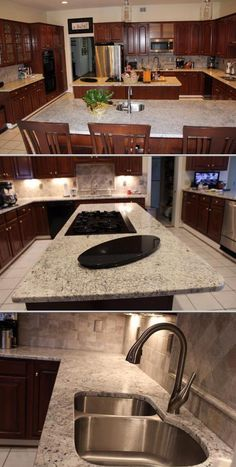This company performs quality granite counter repair jobs. They provide chipped granite countertop repair services. They also render granite, marble and manufactured stone countertop installation work, among others. Get a free quote at Thumbtack.com.