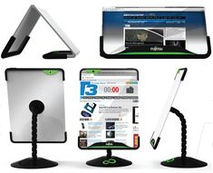 Foldable, flexible tablet.