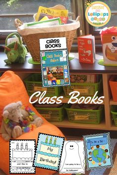 Writing Class Books with your kiddos is the perfect way to get Emergent Readers to read!  The repetitive nature of these books make them very easy to read and Kinders and Firsties LOVE to read what they have written and see their illustrations in a class book. This is a perfect way to integrate class books into your curriculum...ready to print and write!!!