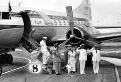 May 21, 1946: Royal Dutch Airlines, KLM, inaugurates a scheduled service to New York. It is the first European airline to open post-war flights to New York.