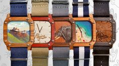 Customizable natural wood watches! Are you serious?! Can the #Kickstarter project really work? http://goo.gl/0A1vEJ
