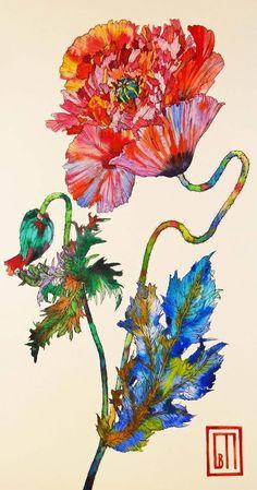 Sofia Perina Miller watercolors http://www.sofiaperinamiller.com/index.html http://www.jacktierneygallery.com/galleries/artists/sofia-perina-miller/