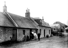 The Toll House, New Cumnock in the 1890's