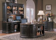 Ideas for and dreaming of my home office space (I spend a lot of time here).