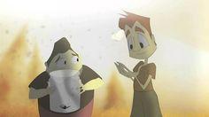 """Ales Trencades"" / Broken Wing (Cortometraje Animado 2D). AMISTAT, SUPERACIÓ."