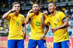 Brasil x Peru: Coutinho e Jesus podem destronar Neymar da artilharia do ano #globoesporte