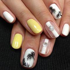 Color vivos Nails Colors Vivos 63 Ideas Nails Colors Vivos #爪 Pink Acrylic Nails, Red Nails, Hair And Nails, Hawaii Nails, Beach Nails, Sparkly Nails, Glitter Nails, Toe Nail Designs, Acrylic Nail Designs