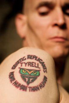 Tattoo blade runner tyrell corporation Runner Tattoo, Tattoo Ideas, Tattoo Designs, Blade Runner, Shoulder Tattoo, Beautiful Words, Ornaments, Tattoos, Movies