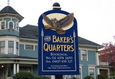 The Bakers Quarters B&B Sign | Danthonia Designs