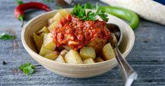 Recette de Patatas bravas. Facile et rapide à réaliser, goûteuse et diététique. Ingrédients, préparation et recettes associées.