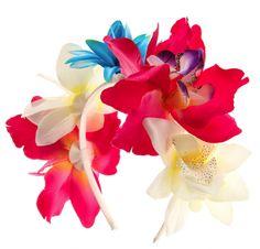 serre tete a fleur tropicale claire's