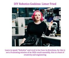 New blog post about Limor Fried ! Learning to solder and assembling my first arduino kit was the coolest part of my high school experience.  Link in bio to our new post ! #womenshistorymonth #limorfried #womenintech #tech #robotics #engineering #arduino #rolemodel #diy by girlenlightenedblog