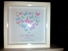 New Baby Print with baby name and date of birth 30.00