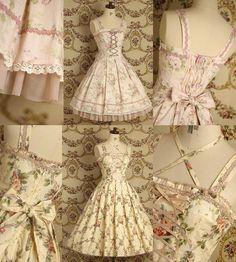 Apaixonada pelo primeiro vestido *_*