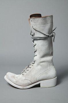 Highlander Calf Leather Boots