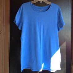 Blue shirt Blue tshirt Faded Glory Tops Tees - Short Sleeve