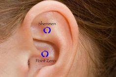 """Gli antichi chiamano questo punto """"Shenmen"""" o """"La Porta del Cielo"""",è situato nel centro del terzo superiore dell' orecchio.Ecco cosa comporta massaggiarlo"""