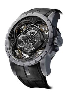 The Excalibur Quatuor is the first watch with a silicon case.