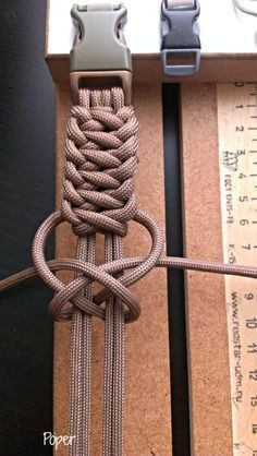 Decorative knots; would use something other than paracord