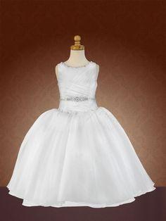 Communion dress by Christie Helene First Communion Dresses for Mackenzie | Big Fashion Show communion dresses