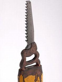 Dalton Ghetti - Pencil sculpture saw