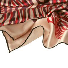MISS CRIMSON silk scarf HYPNOTIC