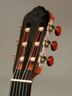 Simon Ambridge Guitars headstock