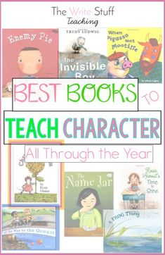 Books for character traits 2nd grade