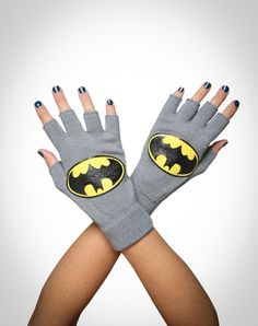 Batman gloves. And you can still text with them.