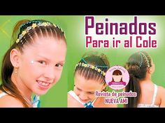 Los mejores peinados infantiles para ir al colegio - Peinados para niñas - Hairstyles for girls - YouTube
