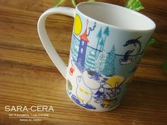 ムーミン マグカップ summer(夏) Four Seasons of Moominvalley :B0001608:お気に入り食器 サラセラジャパン… Mugs, My Favorite Things, Tableware, How To Make, Dinnerware, Tumblers, Tablewares, Mug, Dishes