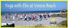 Free Yoga with Elin, I'm hoping to experience this both am and pm on the beach!!
