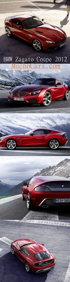BMW Zagato Coupe 2012  http://www.muchocars.com/bmw-zagato-coupe-2012.html