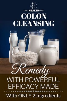 Perhaps you have excess weight, kidney or liver disease or you've simply been told there is nothing you can do about it except stay on the conventional treatment plan.    Well a simple 2 ingredient home remedy could change all of that. | https://dailyhealthpost.com/colon-cleansing-remedy-only-2-ingredients/